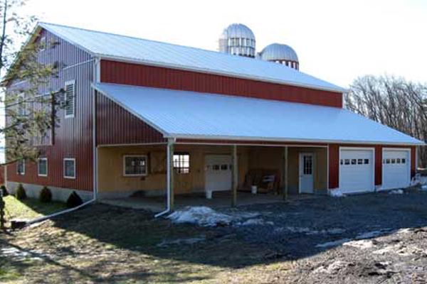 58' x 60' 2-Story Barn