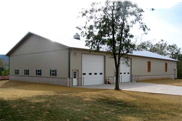 60' x 120' x 16' high Farm Shop/Steer Barn