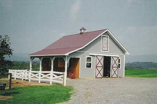 24' x 30' Barn