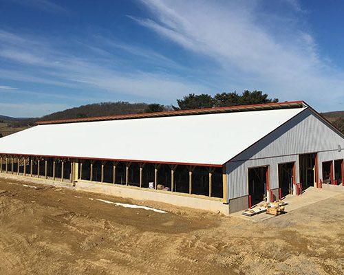 102' x 223' Dairy Barn