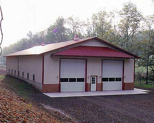 46' x 100' Tractor Trailer Shop