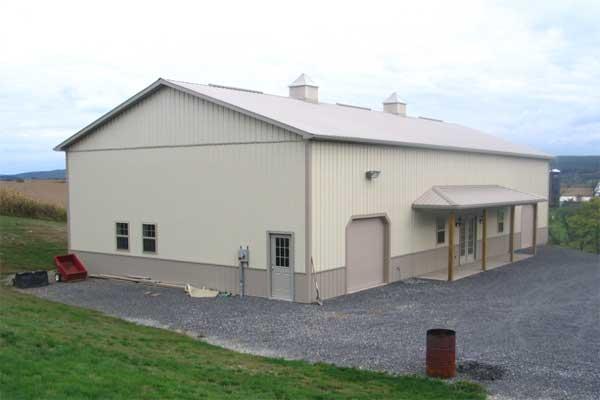 40' x 80' x 16' building