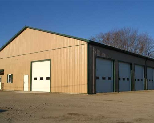 Billings Vending Service Warehouse 68' x 83' x 16' high
