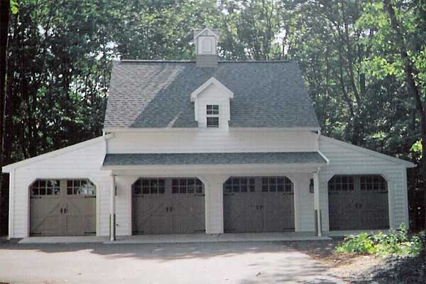 Carriage House Style Garage