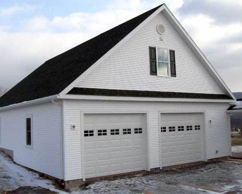 32' x 46' x 10' high Garage with 18' wide Attic Room