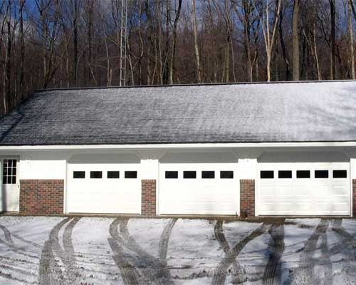 36' x 46' 3-Car Garage