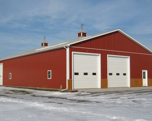 46' wide x 80' long x 14' high Farm Shop