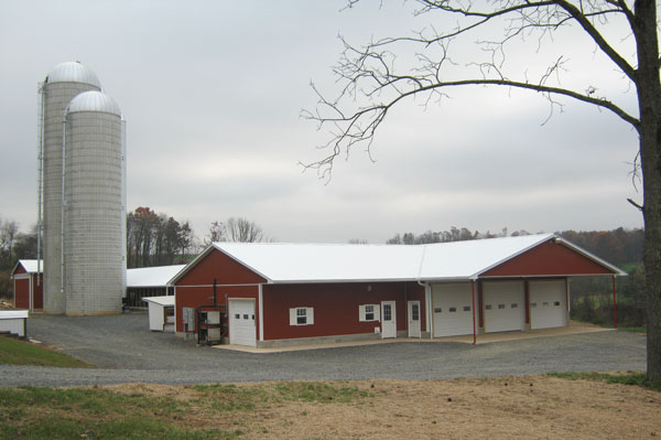 Dairy Barn with attached Milkhouse
