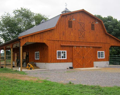 Agricultural and pole buildings by martin s construction for Two story pole barns