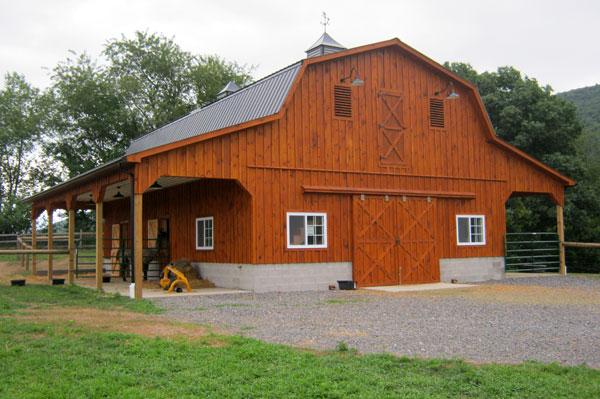 2-Story Horse Barn 48' x 38'