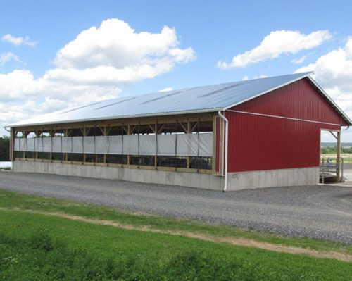 44' x 80' x 14' high Heifer Barn