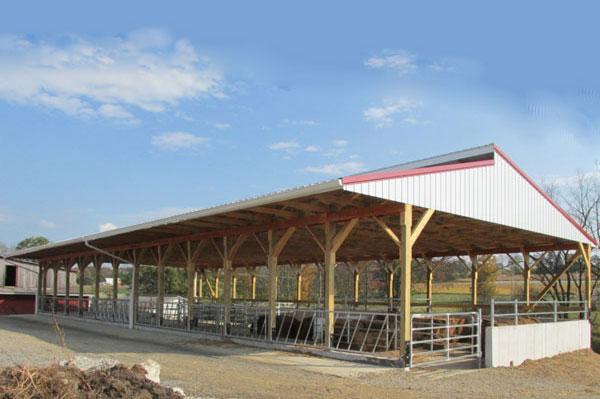 Manure storage building NRCS