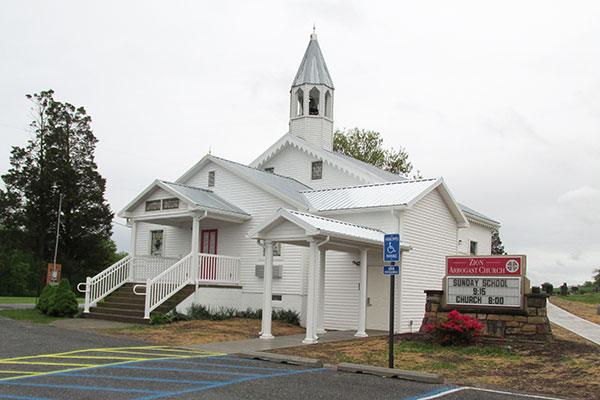 Zion Arbogast Church, Mount Pleasant Mills
