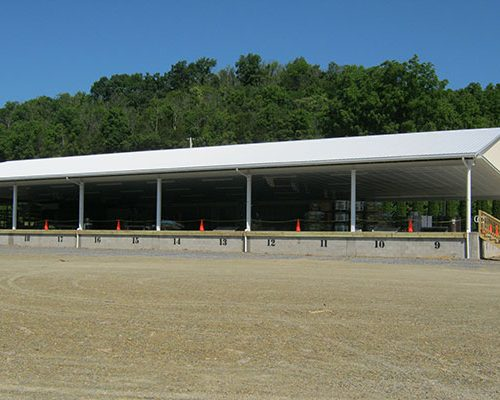 90' x 160' Buffalo Valley Produce Auction