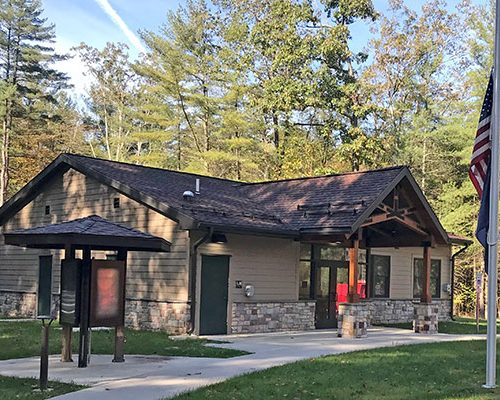 Poe Valley State Park: 35' x 48' x 10' DCNR Park Offices